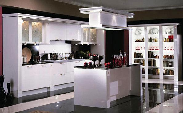 Фото белая кухня atlantica system в стиле